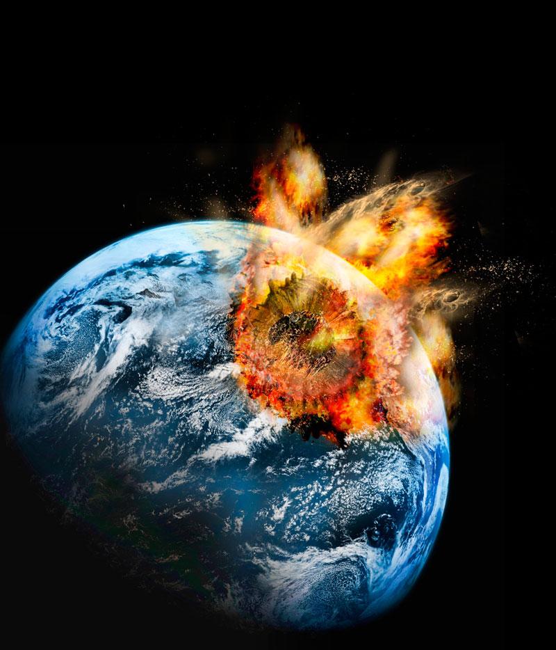 Asteroidi ed eruzioni vulcaniche - La fine dei dinosauri